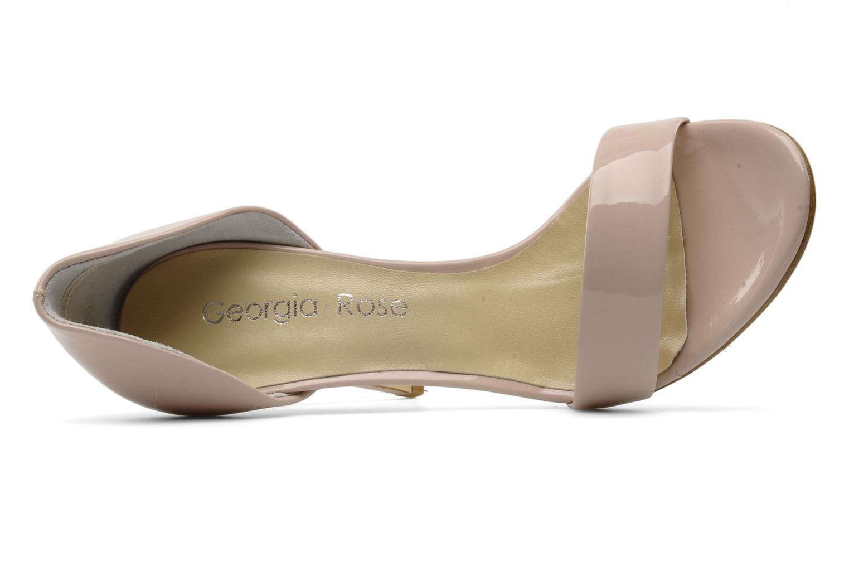 Sandales et nu-pieds Georgia Rose Dellia Rose vue gauche