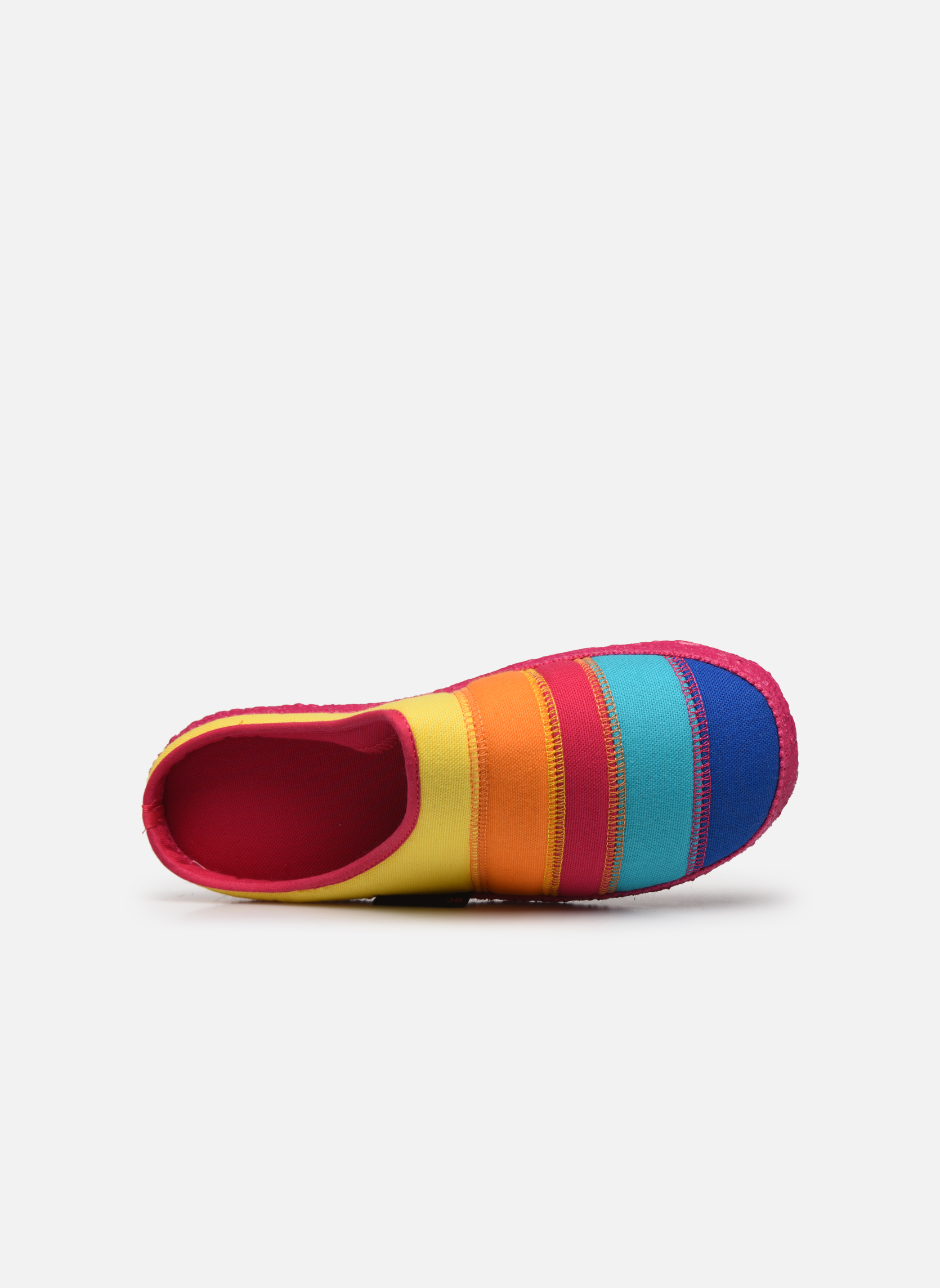 Slippers Giesswein Azusa Multicolor view from the left