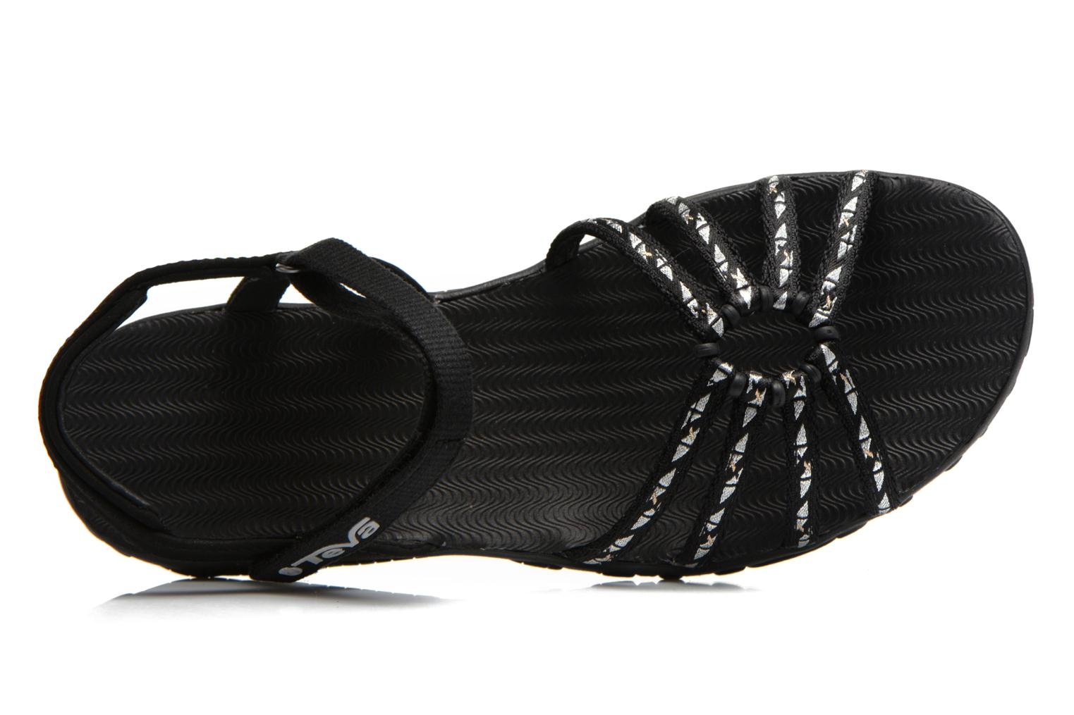 Sport shoes Teva Kayenta W Black view from the left