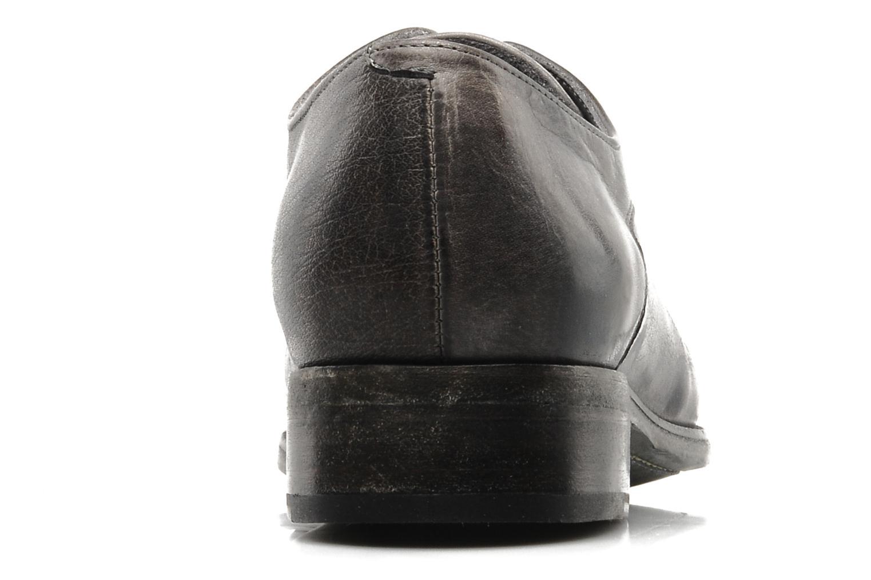 Chaussures à lacets Free Lance Azev 4 derby Gris vue droite