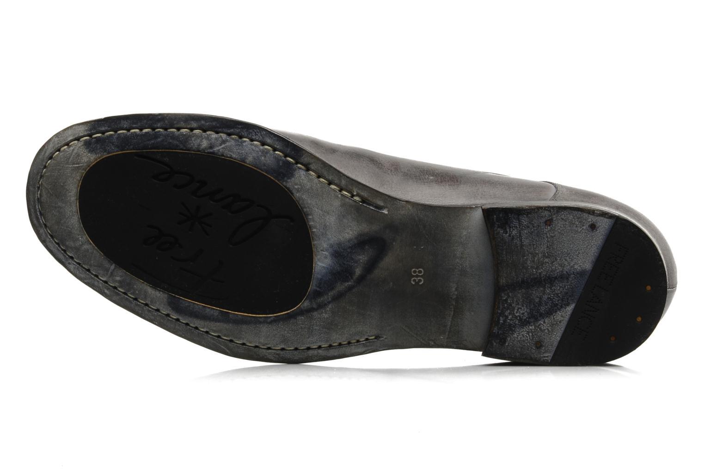 Chaussures à lacets Free Lance Azev 4 derby Gris vue haut