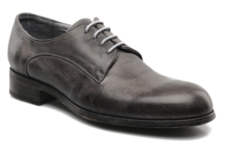 Chaussures à lacets Free Lance Azev 4 derby Gris vue détail/paire