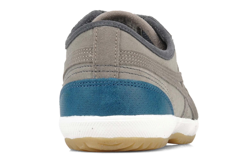 Baskets Asics Retro Rocket & Shoes Up Gris vue droite