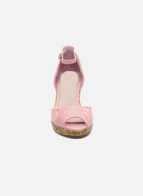 Sandales et nu-pieds Refresh Arue Rose vue portées chaussures