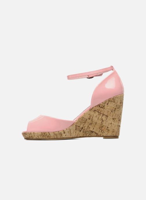 Sandales et nu-pieds Refresh Arue Rose vue face
