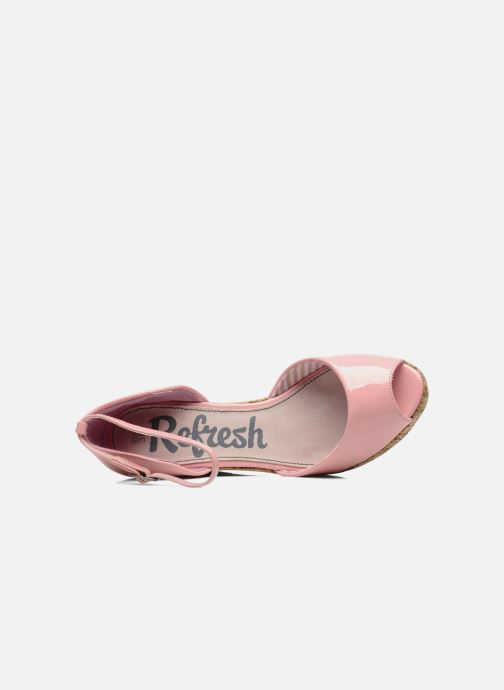 Sandales et nu-pieds Refresh Arue Rose vue gauche