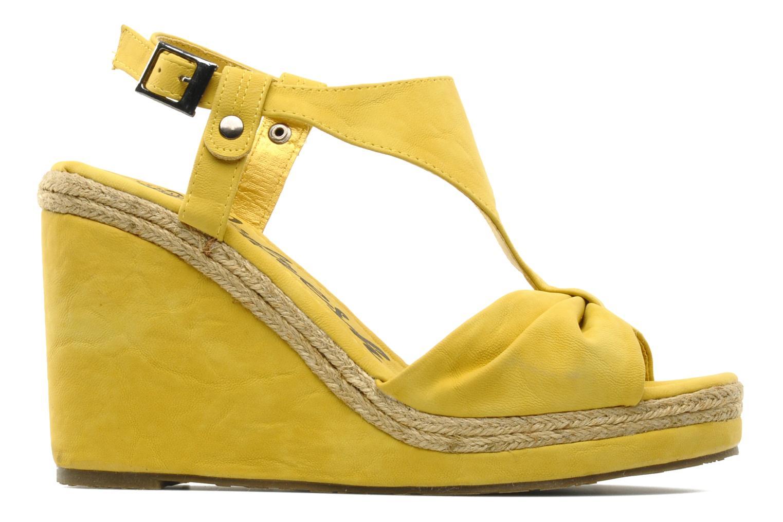 Sandales et nu-pieds Refresh Hikueru Jaune vue derrière