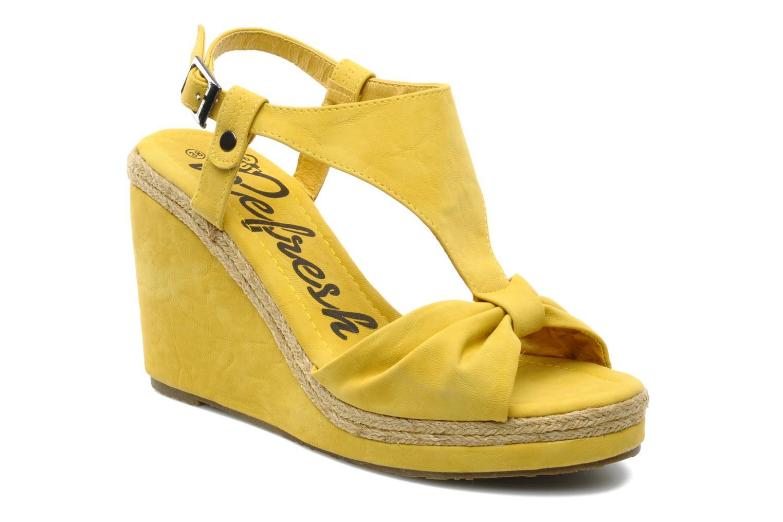 Sandales et nu-pieds Refresh Hikueru Jaune vue détail/paire