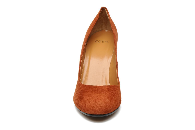 Escarpins Eden Edmie Orange vue portées chaussures