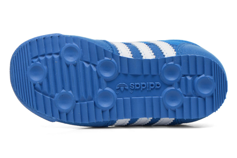 Baskets Adidas Originals Dragon CF I Bleu vue haut