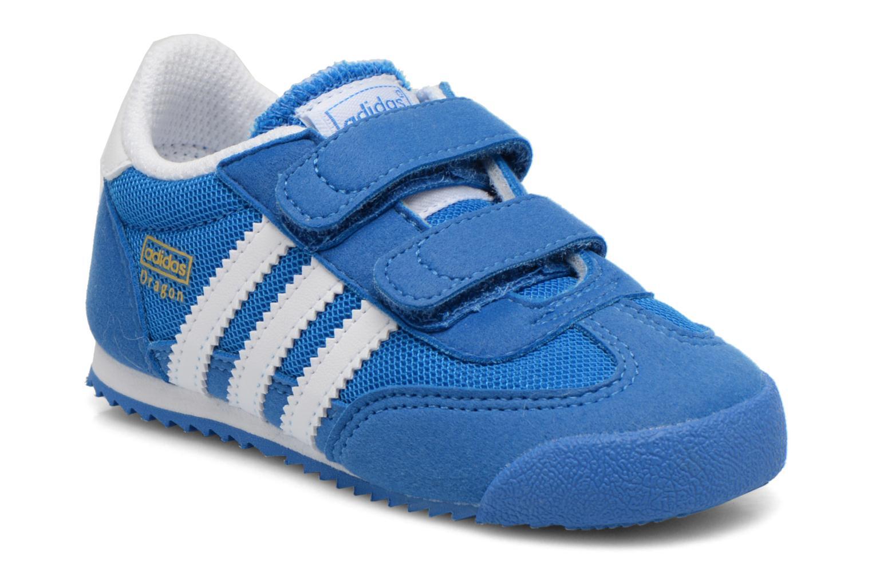 Baskets Adidas Originals Dragon CF I Bleu vue détail/paire
