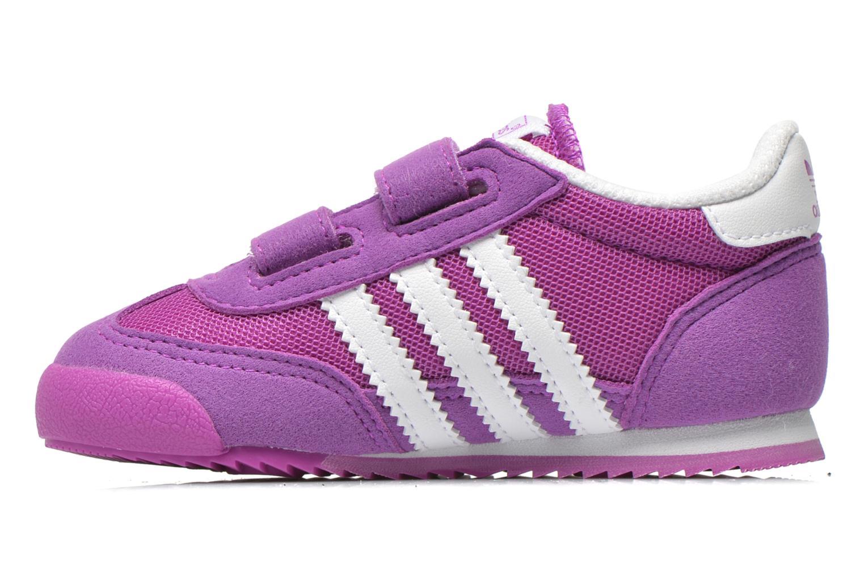 Baskets Adidas Originals Dragon CF I Violet vue face