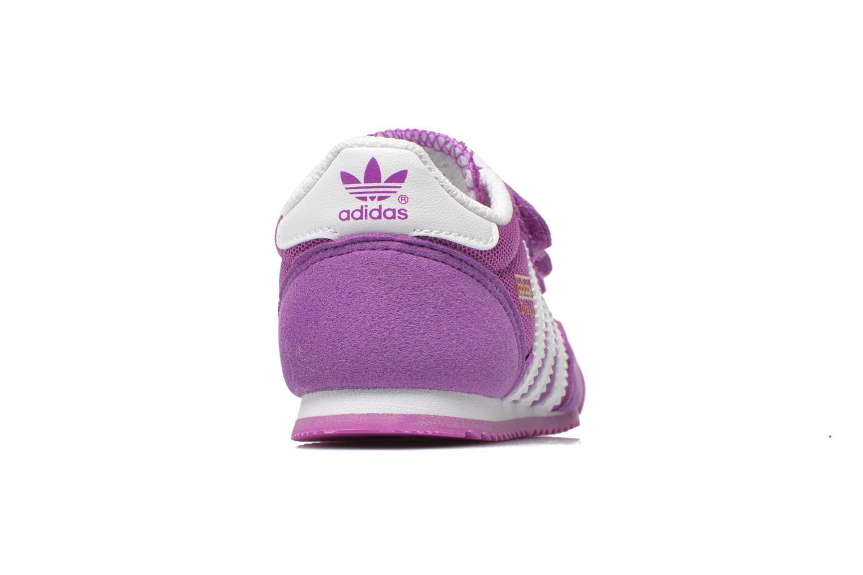 Baskets Adidas Originals Dragon CF I Violet vue droite