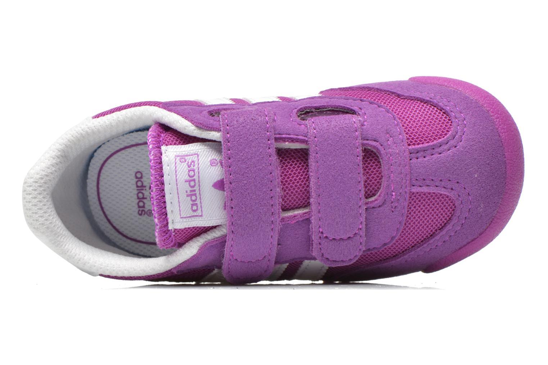 Baskets Adidas Originals Dragon CF I Violet vue gauche