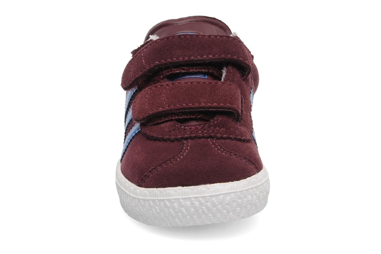 Baskets Adidas Originals Gazelle 2 CF I Bordeaux vue portées chaussures
