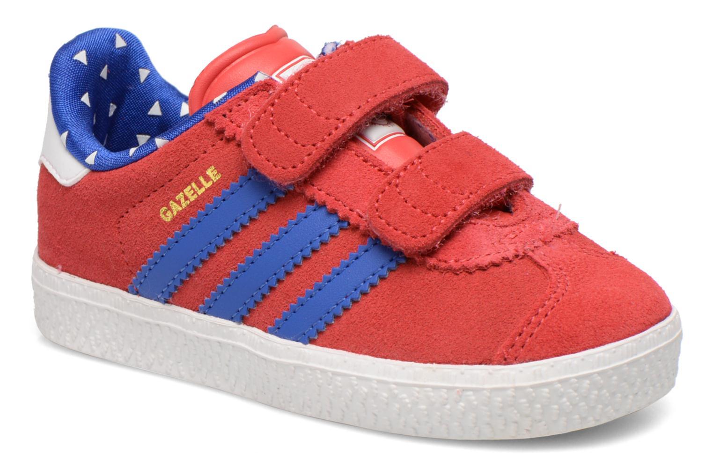 Sneakers Adidas Originals Gazelle 2 CF I Rosso vedi dettaglio/paio