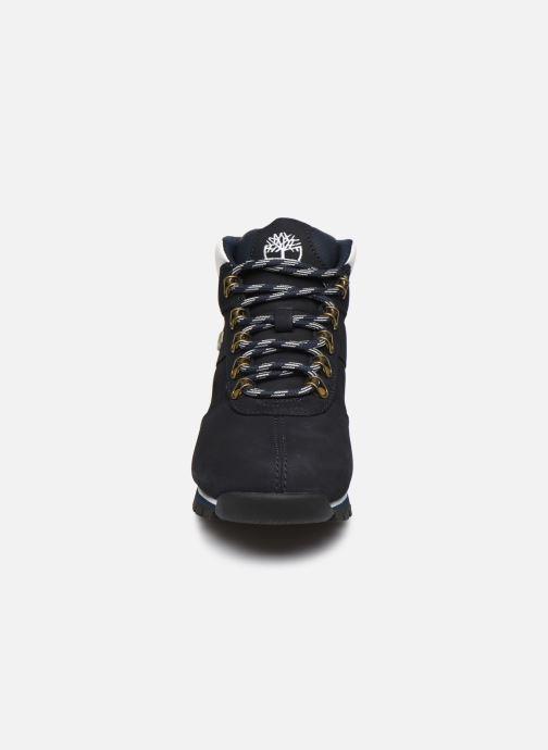 Zapatos con cordones Timberland Splitrock 2 Azul vista del modelo