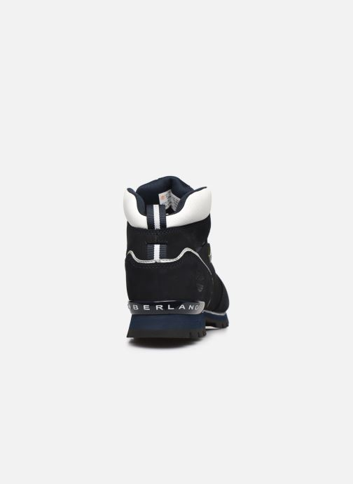 Lace-up shoes Timberland Splitrock 2 Blue view from the right