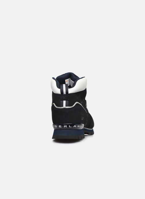 Zapatos con cordones Timberland Splitrock 2 Azul vista lateral derecha