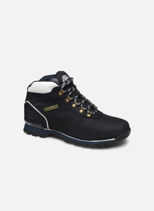 Lace-up shoes Timberland Splitrock 2 Blue detailed view/ Pair view
