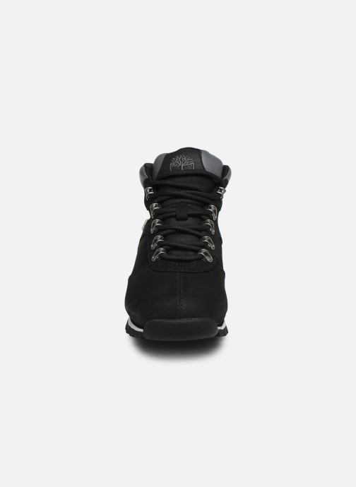 Lace-up shoes Timberland Splitrock 2 Black model view
