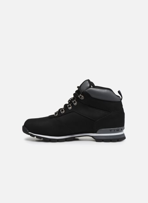 Lace-up shoes Timberland Splitrock 2 Black front view