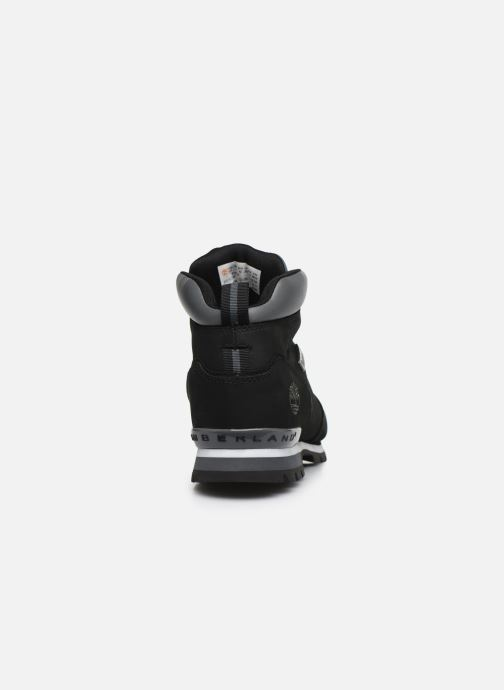 Lace-up shoes Timberland Splitrock 2 Black view from the right