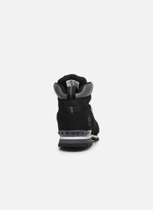 Zapatos con cordones Timberland Splitrock 2 Negro vista lateral derecha