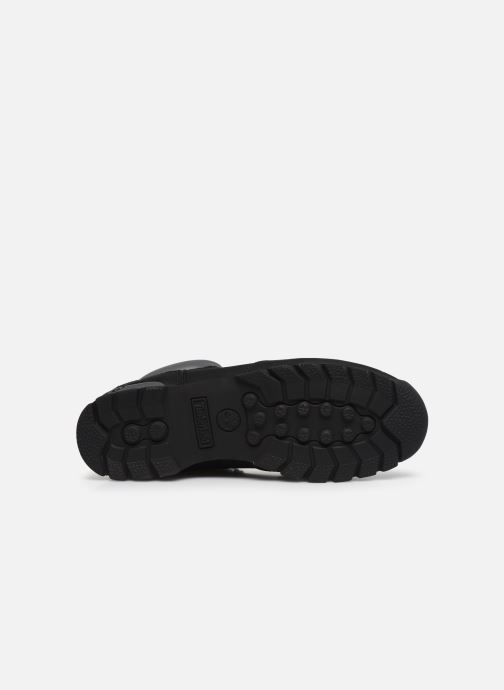 Lace-up shoes Timberland Splitrock 2 Black view from above
