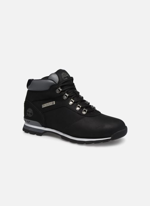Lace-up shoes Timberland Splitrock 2 Black detailed view/ Pair view