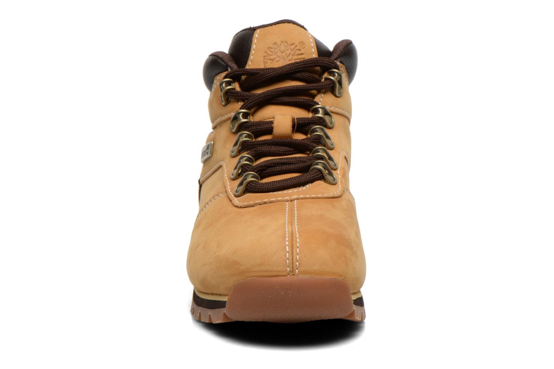 Chaussures à lacets Timberland Splitrock 2 Beige vue portées chaussures