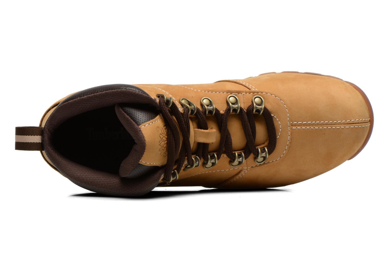 Chaussures à lacets Timberland Splitrock 2 Beige vue gauche