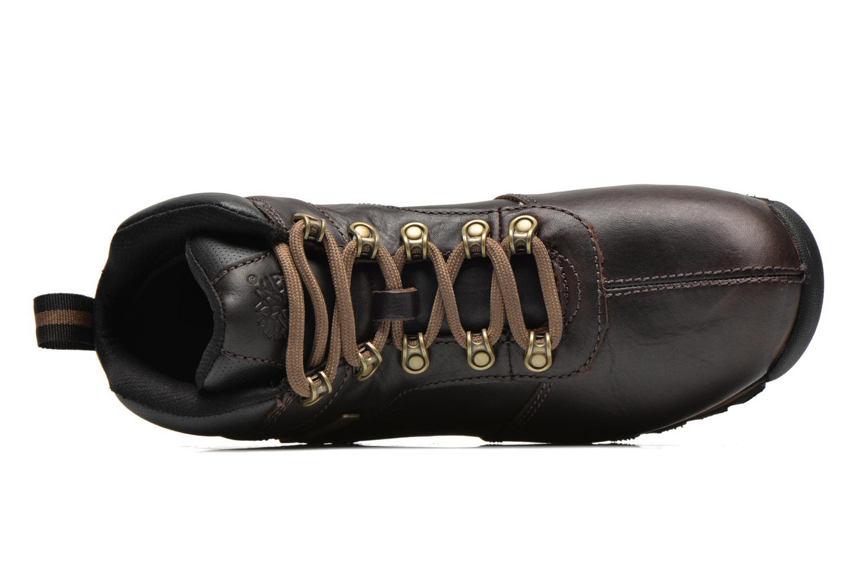 Chaussures à lacets Timberland Splitrock 2 Marron vue gauche