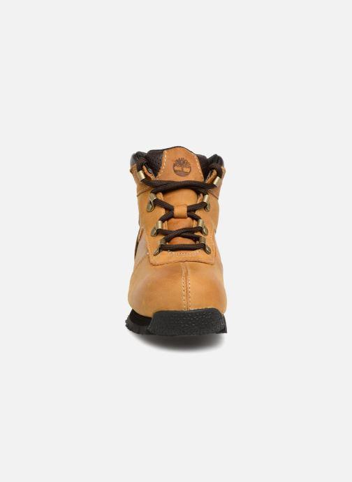 Bottines et boots Timberland Splitrock 2 Kid Marron vue portées chaussures