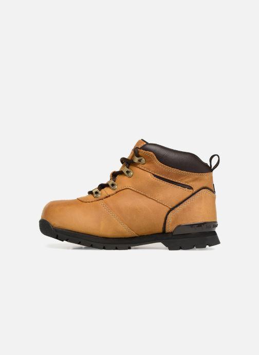 Boots en enkellaarsjes Timberland Splitrock 2 Kid Bruin voorkant