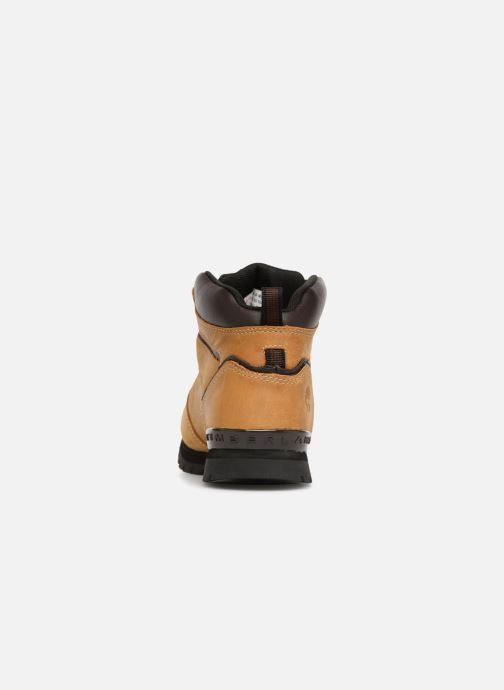 Bottines et boots Timberland Splitrock 2 Kid Marron vue droite