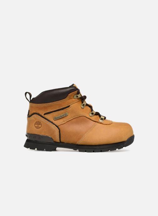 Boots en enkellaarsjes Timberland Splitrock 2 Kid Bruin achterkant