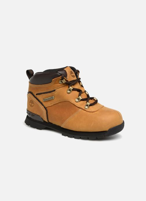 Bottines et boots Timberland Splitrock 2 Kid Marron vue détail/paire