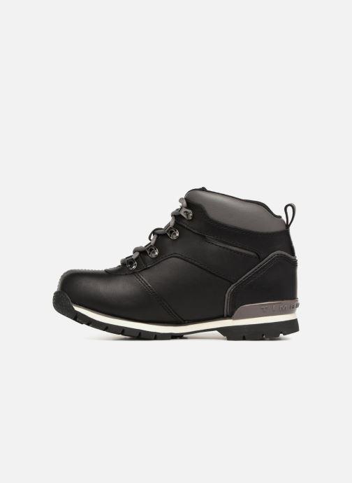 Boots en enkellaarsjes Timberland Splitrock 2 Kid Zwart voorkant