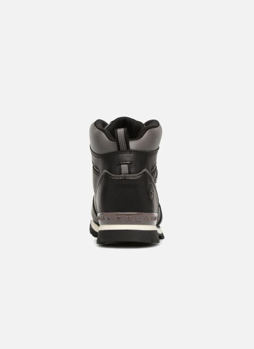 Bottines et boots Timberland Splitrock 2 Kid Noir vue droite