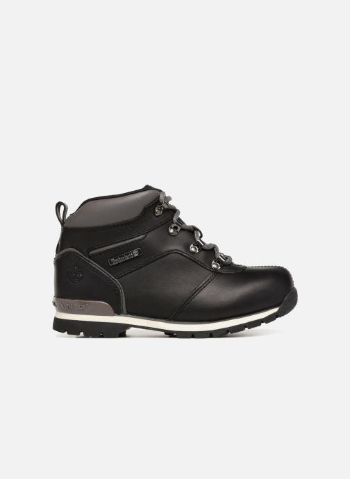 Boots en enkellaarsjes Timberland Splitrock 2 Kid Zwart achterkant