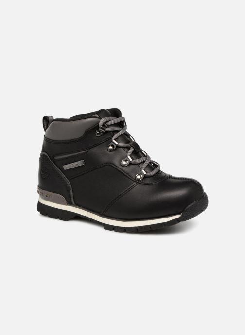 Boots en enkellaarsjes Timberland Splitrock 2 Kid Zwart detail