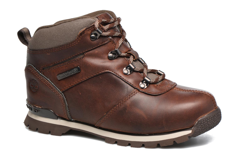 Bottines et boots Timberland Splitrock 2 Kid Marron vue détail/paire