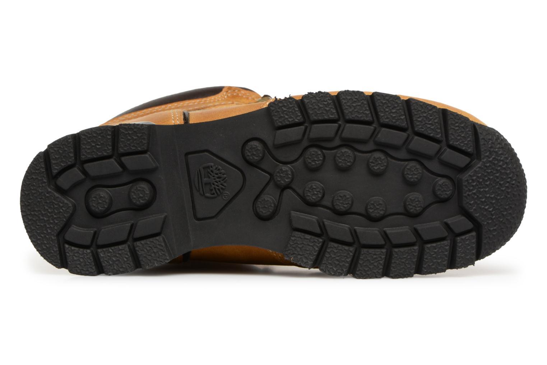 Bottines et boots Timberland Splitrock 2 Kid Marron vue haut