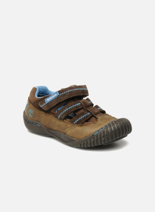 Trainers Timberland Crown Point Fisherman 2 Brown detailed view/ Pair view