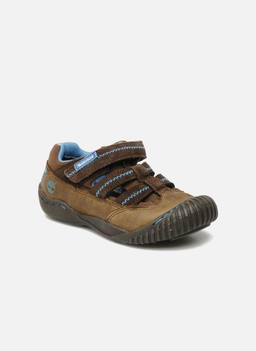 Sneakers Timberland Crown Point Fisherman 2 Brun detaljeret billede af skoene