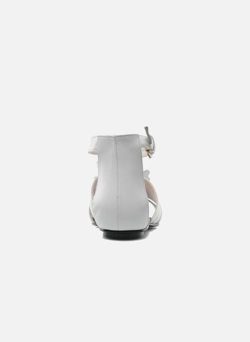 Sandales et nu-pieds Mellow Yellow Leskelet Blanc vue droite