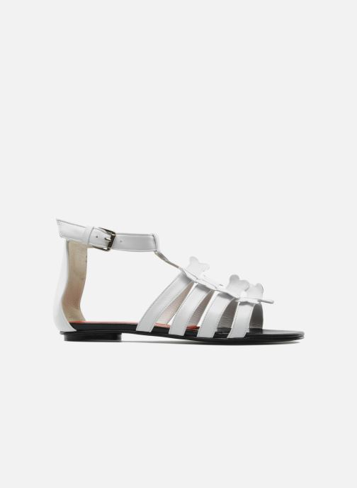 Sandals Mellow Yellow Leskelet White back view