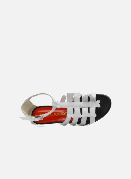 Sandales et nu-pieds Mellow Yellow Leskelet Blanc vue gauche