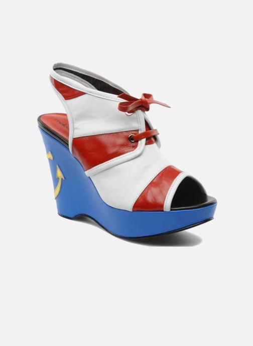 Sandales et nu-pieds Mellow Yellow Lancre Multicolore vue détail/paire